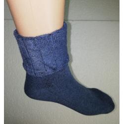 Kojinės nespaudžiančios blauzdų