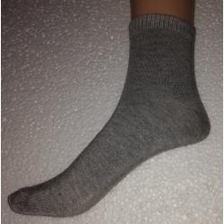Medvilninės kojinės pilkos spalvos
