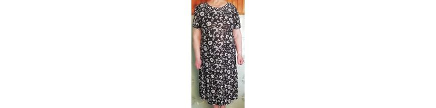 Suknelės trumpom rankovėm