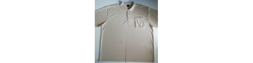 Vienspalviai polo marškinėliai